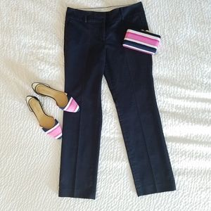 ◇ ANN TAYLOR ◇ NAVY Straight Leg Pants 6P